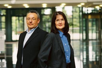 Peter Feudtner und Claudia Steinwartz